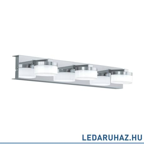 EGLO 94653 ROMENDO Króm LED fali lámpa, 45x7x12,5 cm, 3x4,5W, 3000K melegfehér, 1440 lm, IP44