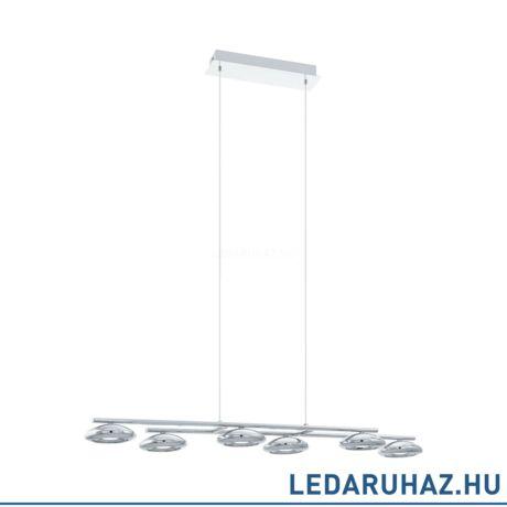 EGLO 96512 TARUGA 1 Függesztett LED lámpa 97,5 cm, króm, 27W, 3000K meleg fehér, 2700 lm