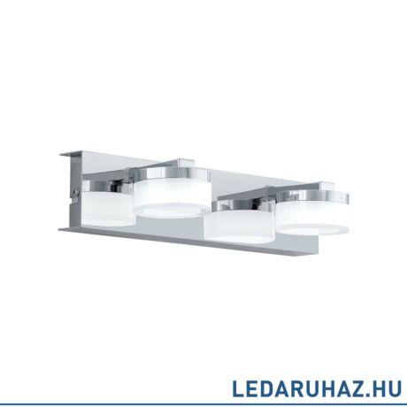 EGLO 96542 ROMENDO 1 Króm LED fali lámpa, 30x7 cm, 2x7,2W, 3000K melegfehér, 1140 lm, IP44 + ingyen szállítás