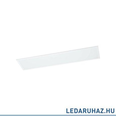 EGLO 96898 SALOBRENA-RW süllyesztett LED panel, 120x30 cm, fehér, választható fehér színhőmérséklet