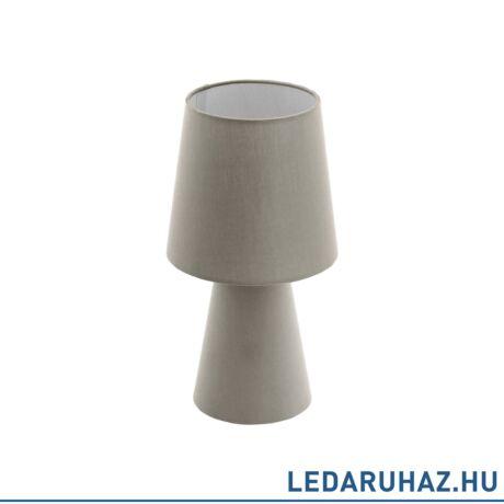 EGLO 97124 CARPARA Szürke asztali lámpa 2 db. E14 foglalattal, 34x17 cm, 2x5,5W + 15% kedvezménnyel