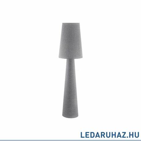 EGLO 97232 CARPARA Szürke állólámpa, 2 db. E27 foglalattal, 173cm magas, 2x60W + ajándék LED fényforrás