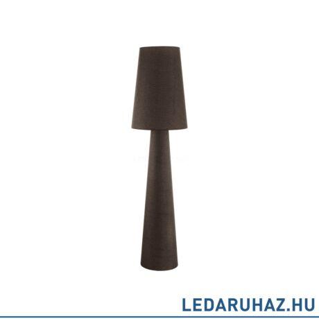 EGLO 97233 CARPARA Barna állólámpa 2 db. E27 foglalattal, 173 cm magas, 2x60W + ajándék LED fényforrás