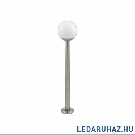 EGLO 97249 NISIA-C kültéri állólámpa, nemesacél + ajándék LED fényforrás