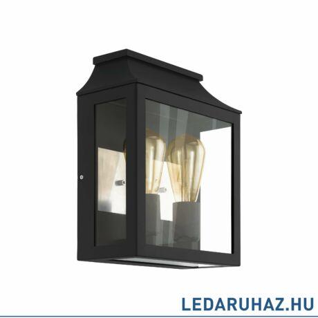 EGLO 97294 SONCINO kültéri fali lámpa, fekete + ajándék LED fényforrás