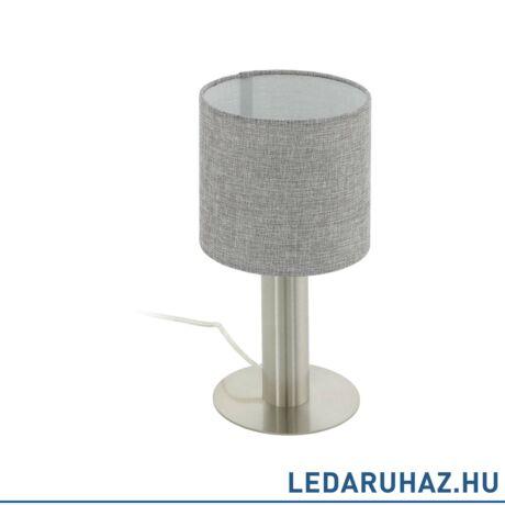 EGLO 97675 CONCESSA 2 Szürke asztali lámpa E27 foglalattal, 30 cm magas, 1x60W
