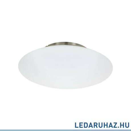 EGLO 97811 FRATTINA-C Connect smart mennyezeti LED lámpa, RGBW, 43,5 cm átmérő, matt nikkel, 27W, 3400 lm