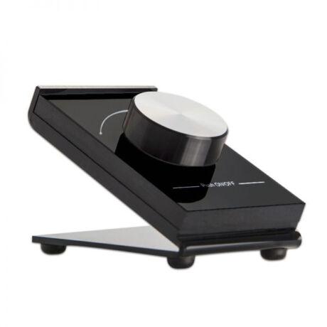SysCon 1 zónás fekete elemes asztali LED távvezérlő forgatógombbal