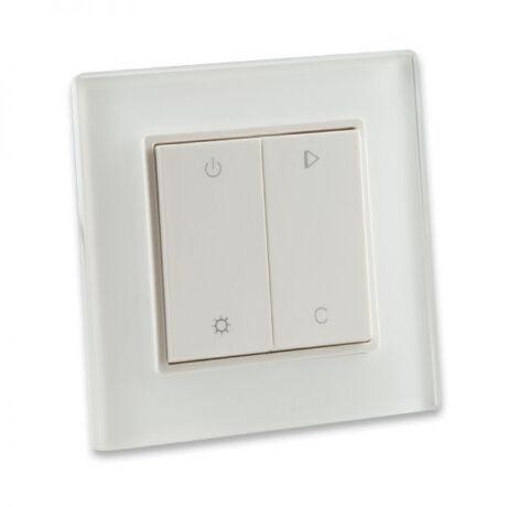 SysCon 1 zónás RF RGB fali LED vezérlő, fehér