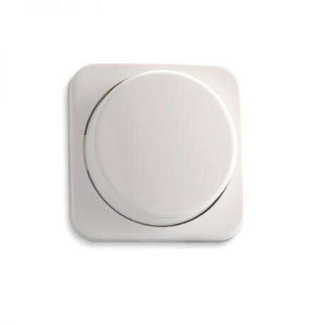 SysCon 1 zónás RF RGB fali LED vezérlő forgatógombbal, fehér