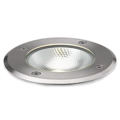 IP67 LED taposható talajba süllyetztett lámpa, kör, 3000K, 6W COB LED, 230V