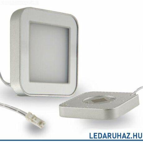Bútorvílágító LED lámpa, szögletes, 3W, 180 lm, 2800K meleg fehér, 12V