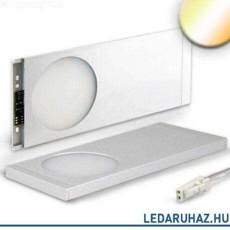Bútorvílágító LED lámpa, szögletes, 6W, 280 lm, WhiteSwitch  (2700K-6500K), 12V, alumínium