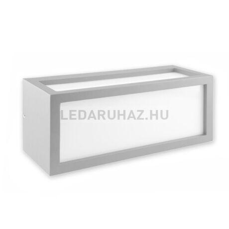 Kültéri falra szerelhető lámpa BOX-2 E27 foglalat, fehér
