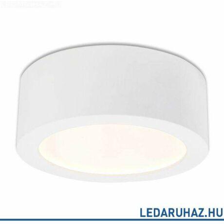 LUNA mennyezeti lámpa indirekt fénnyel, 650 lm, 12W, 4000 K természetes fehér