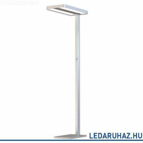 Beépített LED-es állólámpa irodai használatra, 5500 lm, 57W, 4000K természetes fehér, alumínium