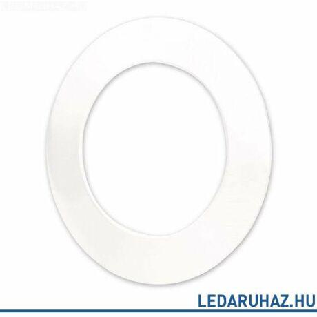 Fehér kör előlap DLSystem IP44 WhiteSwitch LED mélysugárzóhoz