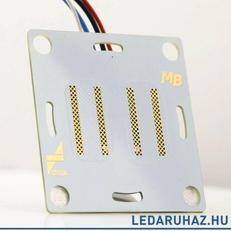 Material Button DB - 2 pólusú burkolat mögé szerelhető kapcsoló 12V/6A, NFC-vel programozható