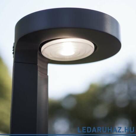 Lutec Diso szolár kültéri állólámpa, 2W, 200 lm, 4000K természetes fehér, IP44, antracit - 6906703335 - P9067-450 gr