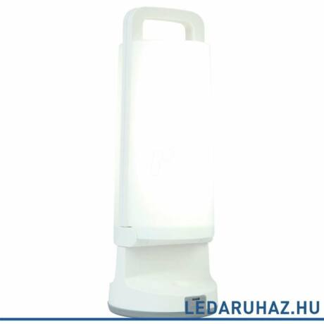 Lutec Dragonfly szolár hordozható asztali lámpa, 1,2W, 120 lm, 4000K természetes fehér, IP54, fehér - 6904101331 - P9041 wh