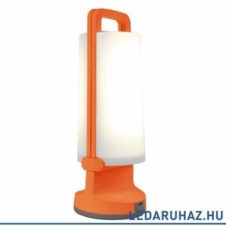 Lutec Dragonfly szolár hordozható asztali lámpa, 1,2W, 120 lm, 4000K természetes fehér, IP54, narancs - 6904101340 - P9041 or