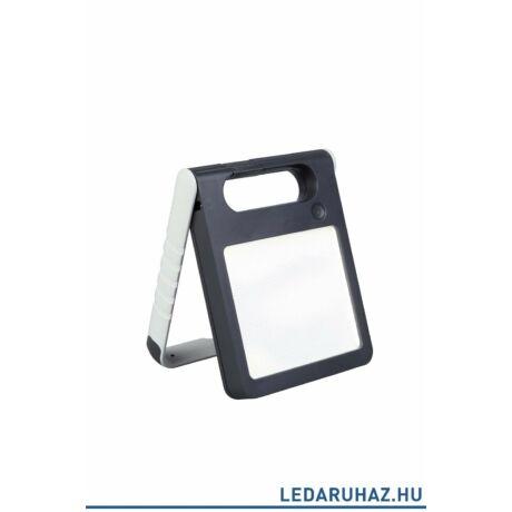 Lutec Padlight szolár hordozható asztali lámpa, 4W, 200 lm, 4000K természetes fehér, IP44, fehér - 6907701331 - P9077wh