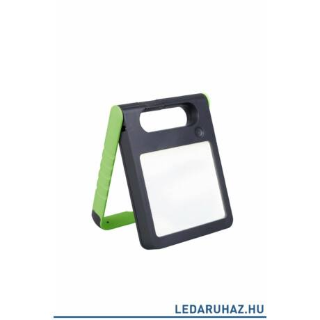 Lutec Padlight szolár hordozható asztali lámpa, 4W, 200 lm, 4000K természetes fehér, IP44, zöld - 6907701339 - P9077 grn