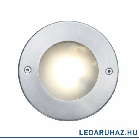 Lutec Strata kültéri talajba süllyeszthető lámpa, 9,2W, 320 lm, 3000K melegfehér, IP67, alumínium - 7704601012 - 7046