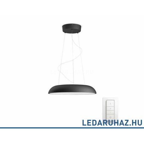 Philips Hue Amaze LED függesztett lámpa, fekete, 39W, 3000 lm@4000K, 2200K-6500K + DimSwitch, 40233/30/P7