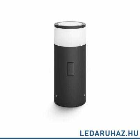 Philips Hue Calla kültéri LED  állólámpa, leszúrható antracit, 8W, 230V, IP65, RGBW, 1742030P7