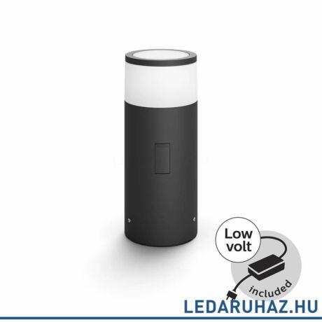 Philips Hue Calla kültéri LED állólámpa, leszúrható, antracit, 8W, 230V, IP65, RGBW, tartozékokkal 1742330P7