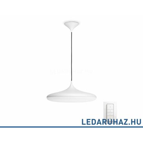 Philips Hue Cher függesztett LED lámpa, fehér, 39W, 3000 lm@4000K, 2200K-6500K + DimSwitch, 40761/31/P7