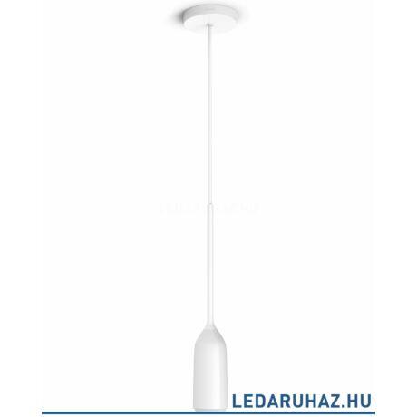 Philips Hue Devote LED függeszték, fehér, 9.5W, 230V, IP20, 2200-6500K, a fényforrást tartalmazza, +DimSwitch, 4300731P7
