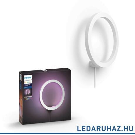 Philips Hue Sana fali LED lámpa, fehér, 20W, 24V, IP20, RGBW, 4090131P7, 4090230P7