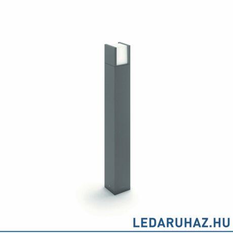 Philips Arbour kültéri álló LED lámpa, antracitszürke, 1 x 6W, 600 lm, 2700K melegfehér, 770 mm magas, 164639316