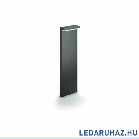 Philips Bustan antracit kültéri LED állólámpa, beépített LED, 2x4,5W, 4000K természetes fehér, IP44, 77 cm magas, 1648693P3