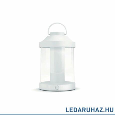Philips Abelia fehér hordozható  LED hangulatfény, beépített LED, 1x3W, IP44, 1736031P0