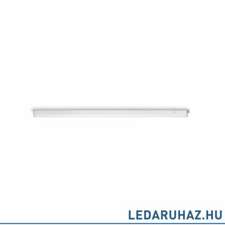 Philips Linear LED pultvilágító, beépített LED, fehér, 4000K természetes fehér, 12W, 84,8 cm hosszú, 3123131P3