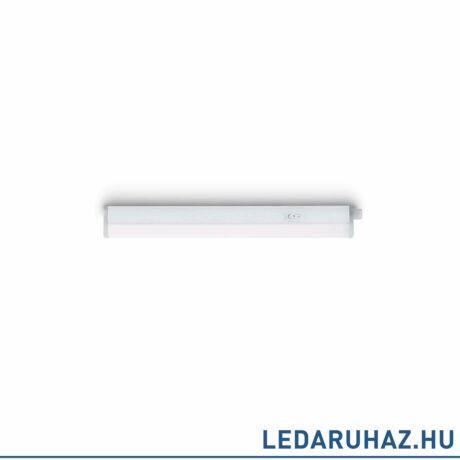 Philips Linear LED pultvilágító, beépített LED, fehér, 2700K melegfehér, 4W, 28,7 cm hosszú, 3123231P0