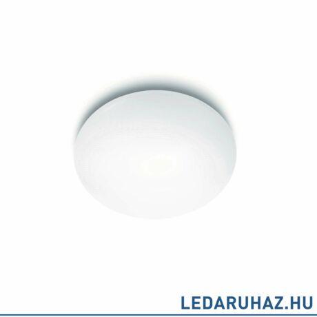 Philips Suede fehér mennyezeti LED lámpa, beépített LED, 2700K melegfehér, 4x5W, 38 cm átmérő, 3180231EO