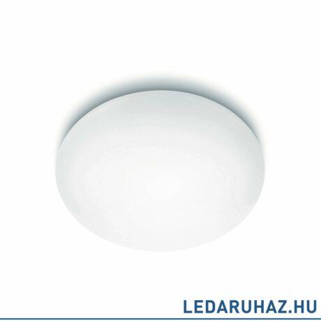 Philips Suede fehér mennyezeti LED lámpa, beépített LED, 2700K melegfehér, 4x9W, 50 cm átmérő, 3180331EO