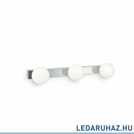 Philips Drops króm fali lámpa 3db E27 foglalattal, 340551116