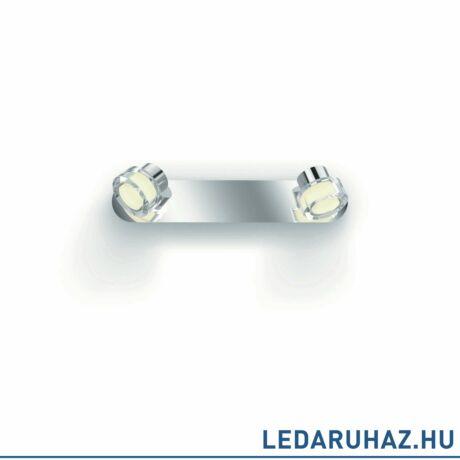 most -20%: Philips Resort króm fürdőszobai mennyezeti LED lámpa, beépített LED, 1x4,5W, IP44, 3417311P0
