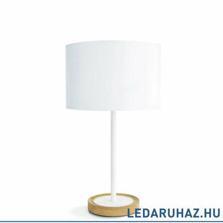 Philips Limba fehér asztali lámpa E27 foglalattal, max.40W, 41 cm magas, 3601738E7
