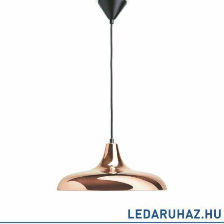 Philips Surrey réz függesztett lámpa E27 foglalattal, max.40W, 39,5 cm átmérő, 3653905E7