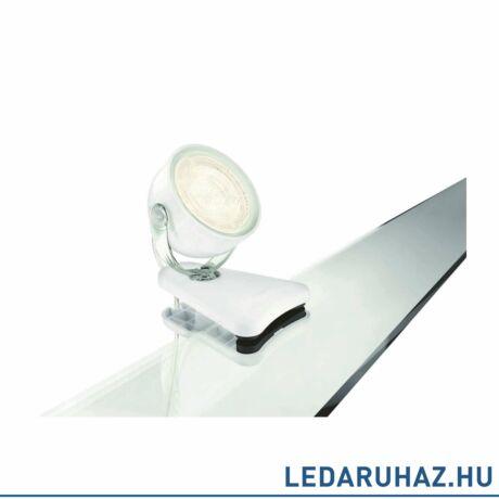 Philips Dyna csiptethető LED spot, fehér, 1x4W, 532313116