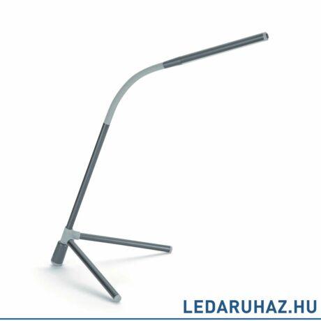 Philips Geometry antracit asztali LED lámpa, beépített LED, 1x2,6W, 39,6 cm magas, 660469316