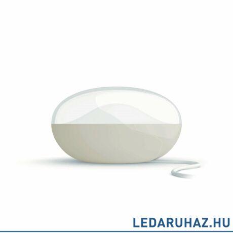 Philips Camellia fehér hordozható LED asztali lámpa, beépített LED, 1x3W, 6x0,5W, 7010431P0