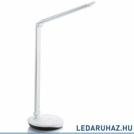 Philips Lever ezüst asztali LED lámpa, beépített LED, 1x5W, 43,5 cm magas, 720071416