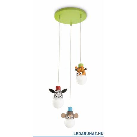 Philips Zoo függesztett lámpa gyerekszobába, E27 foglalat, 405945516